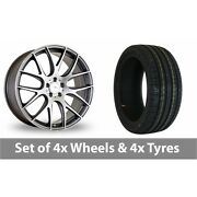 4 X 20 Dare River Nk 1 Alloy Wheel Rims And Tyres - 255/40/20