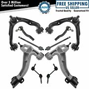 Control Arm Tie Rod Sway Bar Link Kit Lh Rh Set Of 10 For Ford Lincoln Mercury