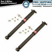 Kyb Excel-g Rear Shock Absorber Pair Lh And Rh Sides For Chevy Gmc Pontiac Buick