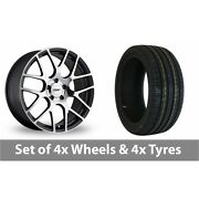 4 X 19 Tsw Nurburgring Forged Alloy Wheel Rims And Tyres - 245/45/19
