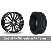 4 X 20 Chayton Polished Highlights Alloy Wheel Rims And Tyres - 275/40/20