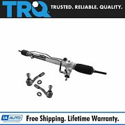 Trq Power Steering Rack Assembly Outer Tie Rod End Kit For Toyota Tundra Sequoia
