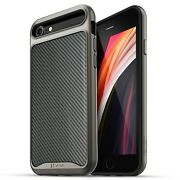 For Iphone 8 Plus 7 Luxury Leather Dual Layer Bumper Shockproof Slim Case Cover