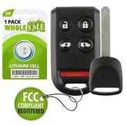 Replacement For 2005 2006 2007 2008 2009 2010 Honda Odyssey Car Key + Fob Remote