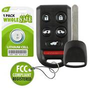 Replacement For 2005 2006 2007 2008 2009 2010 Honda Odyssey Key + Fob Remote