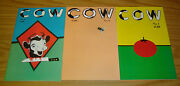 Cow 1-3 Vf/nm Complete Series - Michael T. Gilbert 2 Copybook Tales Underground