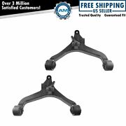 Lower Front Control Arms W/ Bushings Lh And Rh Pair Set For 02-07 Jeep Liberty