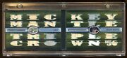 Mickey Mantle 2008 Topps Booklet D /9 Game Patch/jersey/bat 24x Piece Hof  Wow