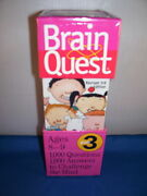 Childrens Game Brain Quest 1000 Questions 1000 Answers Grade 3 8 And Up 7