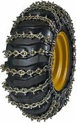 Quality Chain 6524u-2 11mm U-grip Link Loader Grader Tire Chains Snow Traction
