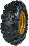 Quality Chain 9924 11mm Studded Link Loader Grader Tire Chains Snow Traction