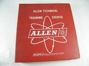 Allen Technical Training Electricity, Fuel System, Cooling, Dc Generators