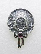 James Avery Retired Sterling Silver Bonnet Hat Pin Brooch - Very Rare - Lb-c1290