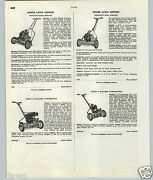 1951 53 Paper Ad Pennsylvania Great American Push Reel Lawn Mower Dille Mcguire