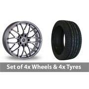 4 X 20 Ac Wheels Saphire Silver Alloy Wheel Rims And Tyres - 275/40/20