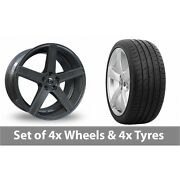 4 X 19 Diewe Cavo Platinum Alloy Wheel Rims And Tyres - 285/30/19