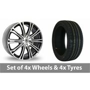 4 X 20 Wolf Design Vermont Sport Alloy Wheel Rims And Tyres - 255/40/20