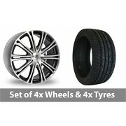 4 X 20 Wolf Design Vermont Sport Alloy Wheel Rims And Tyres - 255/45/20