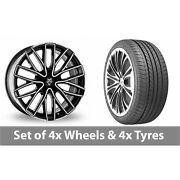 4 X 20 Wolf Design Wolf Design Gtp Alloy Wheel Rims And Tyres - 275/35/20