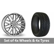 4 X 22 Wolf Design Wolf Design Gtp Alloy Wheel Rims And Tyres - 245/30/22