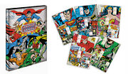 Dc Comics Justice League My Stamp Collections Limited Edition