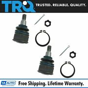 Trq Ball Joint Front Lower Lh Rh Pair For 03-11 Honda Element New