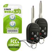 2 Replacement For 2011 2012 2013 2014 2015 2016 Ford Taurus Key Alarm