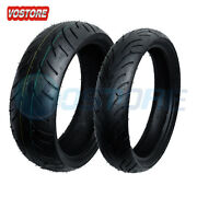 Front + Rear Max Motosports Motorcycle Tires 120/70-17 And 180/55-17