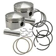Forged Pistons For 88ci.- 103ci. Motors And Sidewinder Kit - .010 Over-106-5536