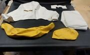 Bayliner 2012 Replacement Upholstery Skins Set Of 5 Yellow / White Boat