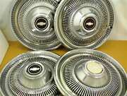 1974 1975 Chevrolet Hubcaps 15 Wheel Covers Set Of 4 Gm
