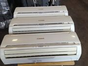 Mitsubishi Air Conditioning / Heating System 3 Wall Mounted Units Fully Fitted