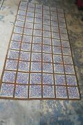 Vintage Primitive American Hand Hooked Rug On Burlap 3and0392 X 6and039