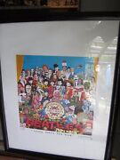 King Of Pop,nelson De La Nuez Lonely Hearts Club2007-signed-w/animated Beatles