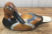Duck Decoy Canvas Spain Welcome To Happiness The Craft Company Lake Arrowhead