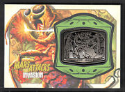 Mars Attacks Invasion Topps/2013 Manufactured Medallion Card Mm-5