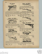 1951 Paper Ad Daisy Air Rifle Double Twin Barrel Pump N Scope Target Defender