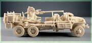 Milicast Us116 1/76 Resin Wwii Usa Gmc Cckw- 353 2.5t 6x6 40mm Bofors Sp Aa Gun