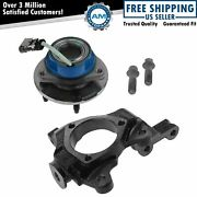 Front Passenger Side Wheel Hub And Bearing Assembly And Steering Knuckle Spindle
