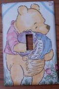 Light Switch Plate Outlet Covers With Classic Winnie Pooh Honey Hunny Pot