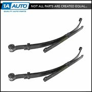 Oem Rear Leaf Spring Pair Lh And Rh Sides For 07-13 Chevy Gmc 1500 Pickup Truck