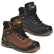 Apache Ranger Waterproof Leather Safety Boots Steel Toe And Midsole. Anti Static