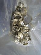 Ideal Stainless Steel Hose Clamps Set Of 25 1 7/8 Od 1 3/4 Id Marine Boat