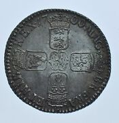1700 Shilling, British Silver Coin From William Iii Choice Au