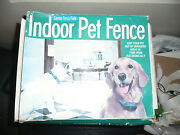 Indoor Pet Fence Canine Force Field 21st Century New Opened Box 100 Complete
