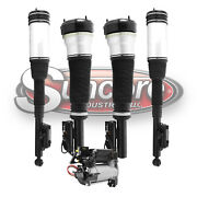 2000-06 Mercedes S430 W220 Front And Rear Air Struts Air Compressor And Relay Kit