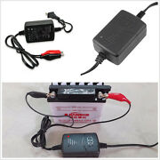 Smart Compact 12v 1300ma Car 4wd Pickup Battery Charger Tender Maintainer Kit