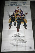 The Three Musketeers Orig Large 3-sheet Movie Poster Oliver Reed/raquel Welch