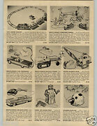 1958 Paper Ad Gmp Toy Rc Remote Control Tractor Trailer Crane Robert Robot Chevy