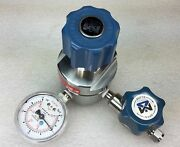 Matheson M3452 High Flow Gas Line Regulator 500 Psi Excellent Used Condition